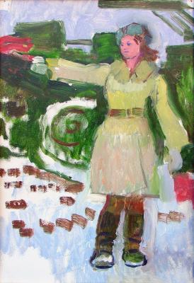 Зернова Екатерина Сергеевна. Регулировщица