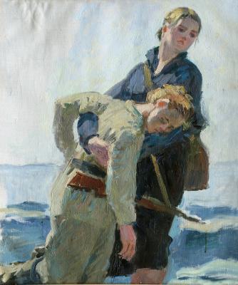 Зернова Екатерина Сергеевна. Подвиг