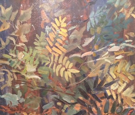 """Zernova Y. S. """"mountain ash leaves."""""""