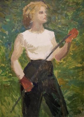 Зернова Екатерина Сергеевна. Девушка с луком