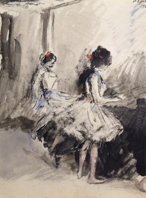 "Krylov P. N. ""Ballerina."""