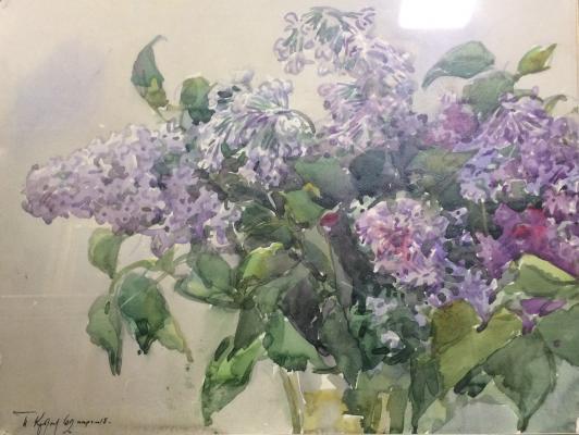 """Krylov P. N. """"Lilac."""""""