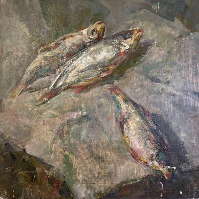 Крылов Порфирий Никитич. Рыбы. Малаховка