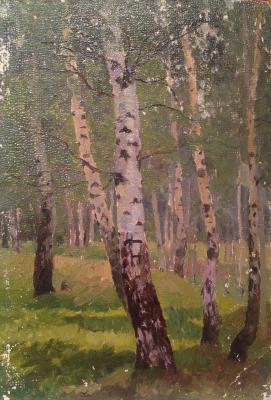 """Kirikov V. O. """"Silver birch."""""""