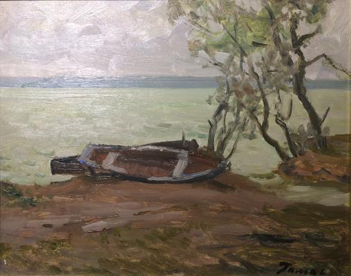 "Romas Y. D. ""Lonely boats."""