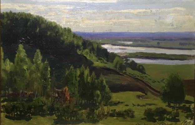 Ромас Яков Дорофеевич. На Оке