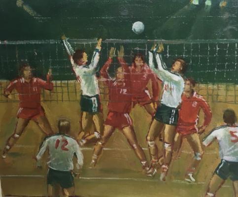 Гурвич Михаил Иосифович. Волейбол