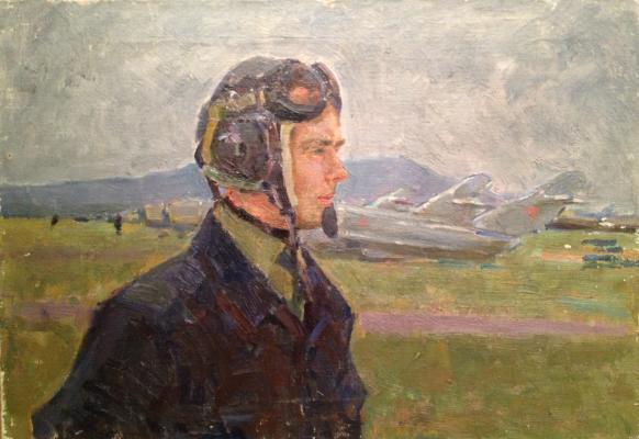 """Gurvich I. M. """"Airman third class , Lieutenant Fedorov A ."""""""