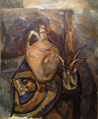 """Gurvich I. M. """"Still life with white jug ."""""""