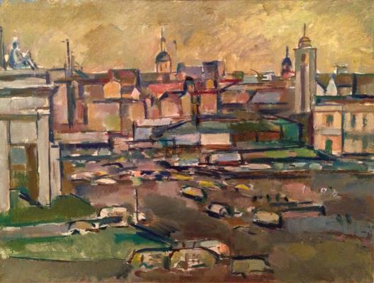 "Gurvich I. M. ""City landscape."""