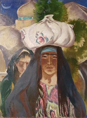 Skok Vladislav Antonovich - In Khiva