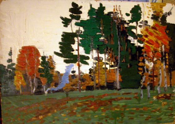 "Gorlov N. N. ""Autumn Landscape"""