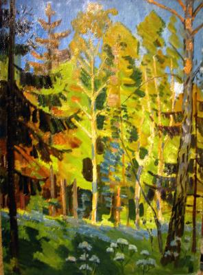 "Gorlov N. N. ""Forest in early autumn"""