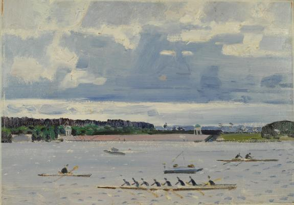 "Gorlov N. N. ""Moscow. Rowing channel."""