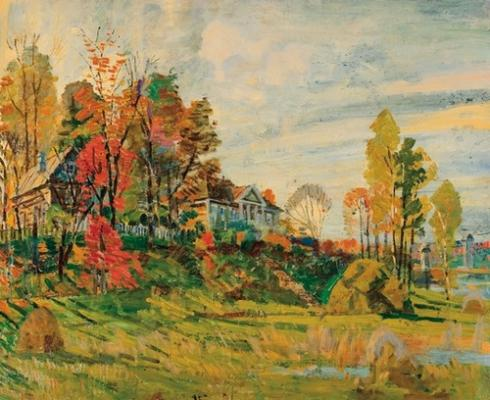 "Gorlov N. N. ""Autumn day"""