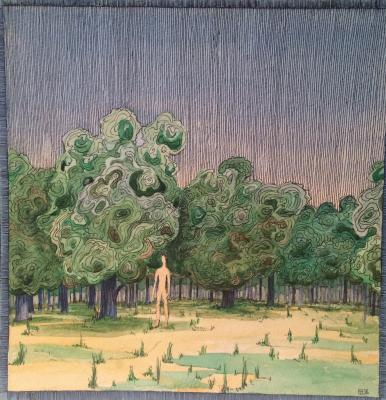 "Tyurin  ""Landscape."""
