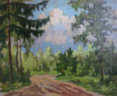 "Goloshchapov N. N. ""The road in the forest"""