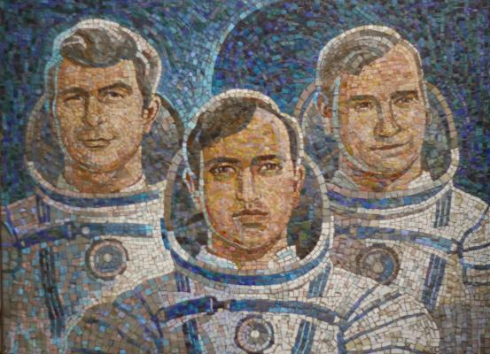 "Skripkov Y. N. ""The astronauts ."""