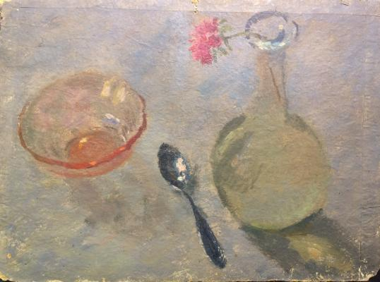 "Sitnikov ""Still life with a teaspoon"""