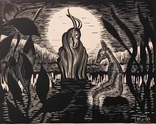 """Kropivnitskaya V. Y. """"On the river"""""""