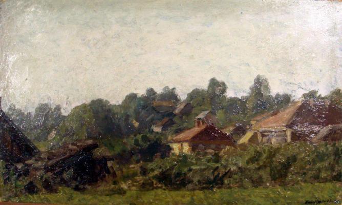 "Krymov N. P. ""Landscape"""