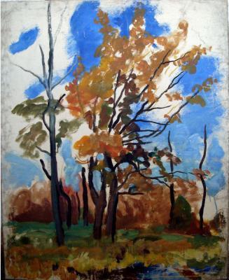 """Konchalovsky P. P. """"Autumn Landscape"""""""