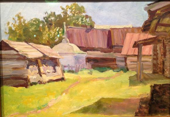 "Bychkov P. ""Rural farmstead ."""