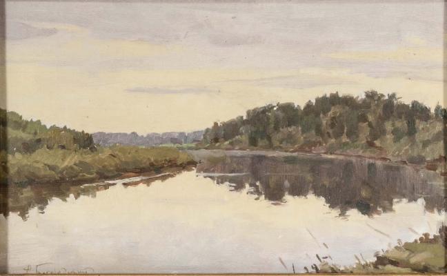 "Bogorodsky F. S. ""Landscape"""