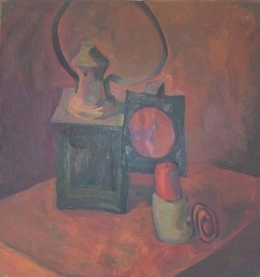 """Tolstaya N. O. """"Still life with lantern"""""""