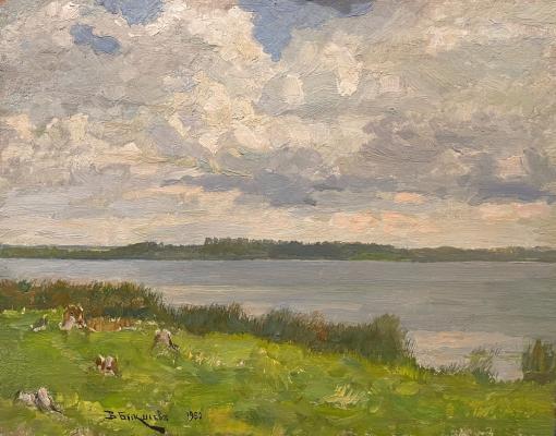 Бакшеев Василий Николаевич. Озеро Сенеж