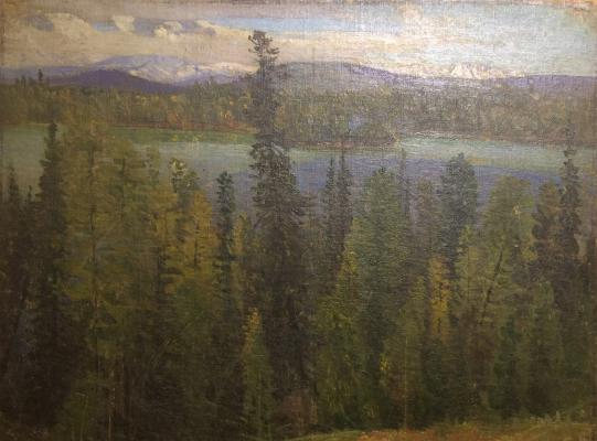"Gurkin (Choros) G. I. ""Mountain landscape."""