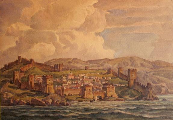 "Bogayevsky K. F. ""Genoese fortress"""