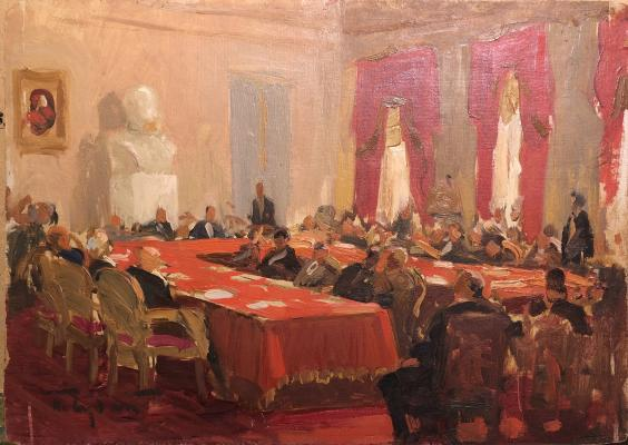 "Sudakov P. ""Meeting of the Presidium of the Academy of Sciences of the USSR."""