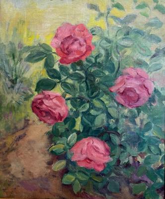 """Kuznetsov P. V. """"Roses on a bush"""""""