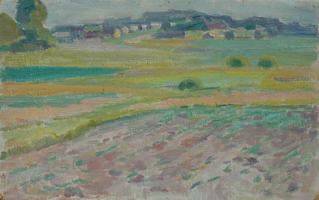 """Ulyanov N. P. """"Landscape."""""""