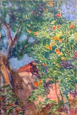 Ульянов Николай Павлович. Апельсиновое дерево