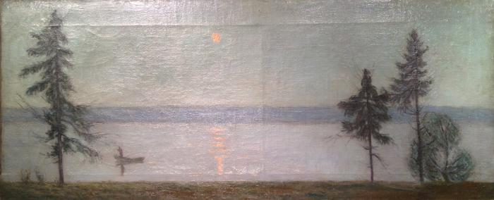 "Chernyshev N. M. ""On the lake Senezh ."""
