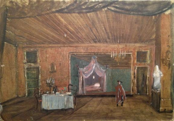 "Shifrin N. A. ""Set design for the opera"""