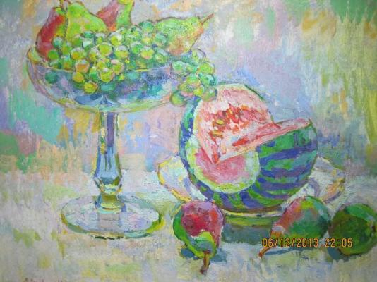 "Chegodar V. D. ""Still Life with Watermelon ."""