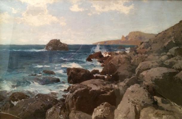 "Shilder A. N. ""Seascape."""