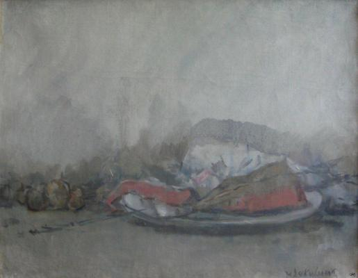 "Sokolov M. K. ""Still life with red fish"""