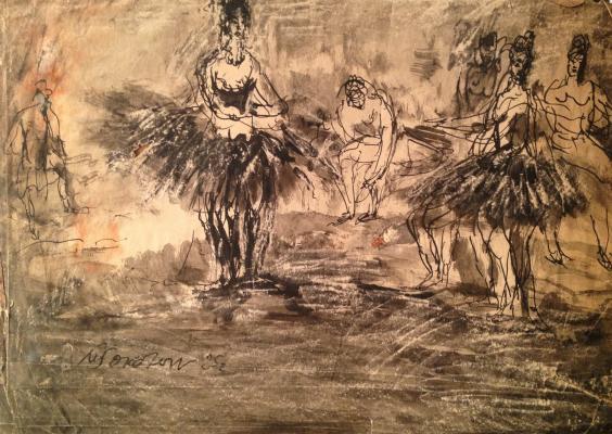 """Sokolov M. K. """"Dancers"""""""