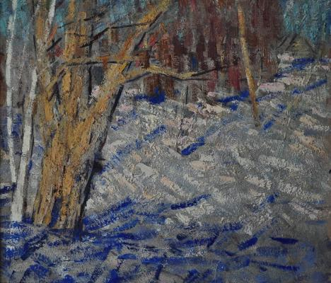 "Tyagunov V. P. ""Winter landscape ."""