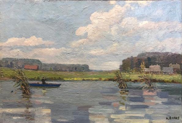Вялов Константин Александрович. Озеро