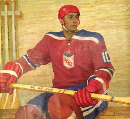 """Ilin I. M. """"Portrait of Honored Master of Sports Mishakova E.D."""""""