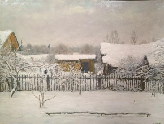 "Kugach Y. P. ""In winter"""