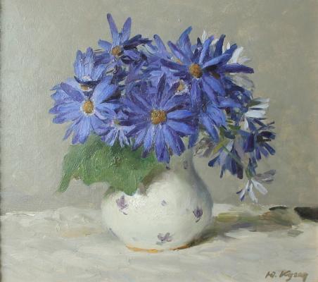 "Kugach Y. P. ""Cornflowers."""