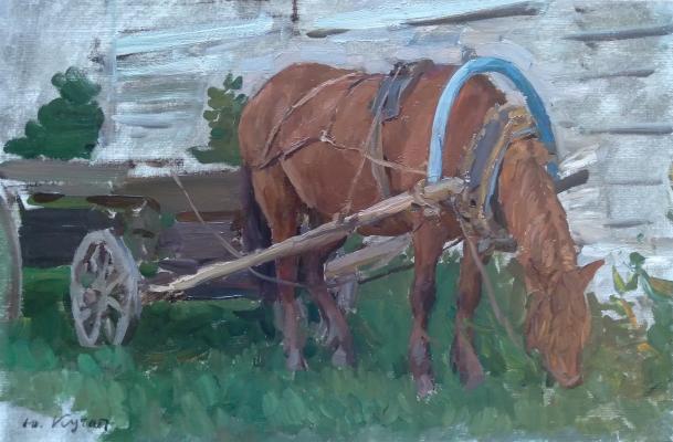 Кугач Юрий Петрович. Рыжая лошадь