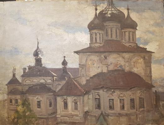 Киселев Петр Дмитриевич. Новоспасский монастырь