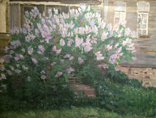 """Stepanov A. S. """"Lilac. (Artist Cottage Byalynitsky-Birulya)."""""""